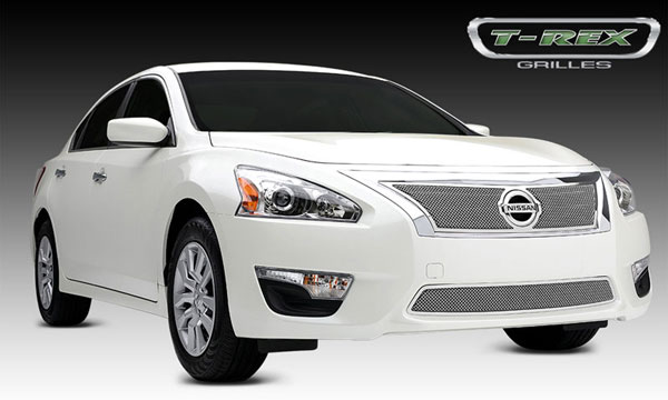 T-Rex 54768 |  Nissan Altima 2.5 S 2013 - 2013 Upper Class Stainless Mesh Grille