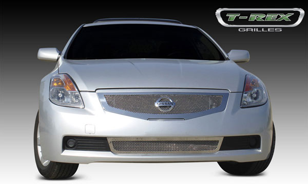 T-Rex 54769:  Nissan Altima Coupe 2008 - 2009 Upper Class Polished Stainless Mesh Grille
