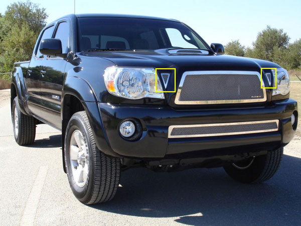 T-Rex 54896 |  Toyota Tacoma 2005 - 2010 SS Side Vents - 2 Pc