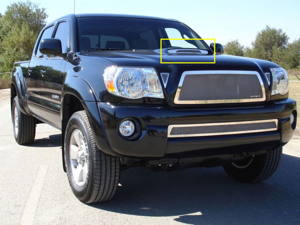 T-Rex 54897 |  Toyota Tacoma - SS Hood Scoop; 2005-2010