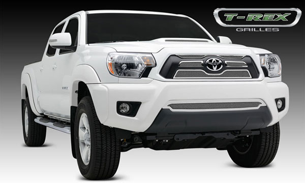 T-Rex 54940:  Toyota Tacoma 2012 - 2013 Upper Class Mesh Grille Overlay/Bolt On - 4 Pc