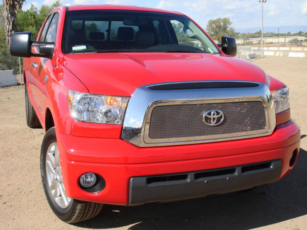 T-Rex 54959 |  Toyota Tundra - Upper Class Polished Stainless Mesh Grille - 1 Pc; 2007-2009