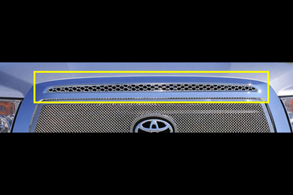 T-Rex 54962:  Toyota Tundra 2010 - 2012 Upper Class Top Grille Accent (Top of Main Grille) - 1 Pc