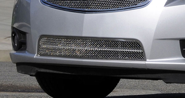 T-Rex 55125:  Chevrolet Cruze 2011 - 2013 Upper Class Polished Stainless Bumper Mesh Grille
