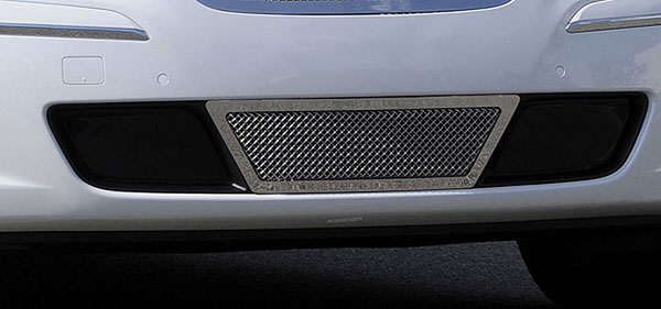 T-Rex 55495 |  Hyundai Genesis Sedan - Upper Class Polished Stainless Bumper Mesh Grille - Center Area Only - w/ Formed Mesh Center - fits vehicles equipped w/ Tech Package; 2009-2010