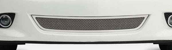 T-Rex 55812:  Infiniti G-37 (Sedan) 2011 - 2013 Upper Class Formed Mesh Grille Bumper - 1 Pc - Polished Stainless Steel