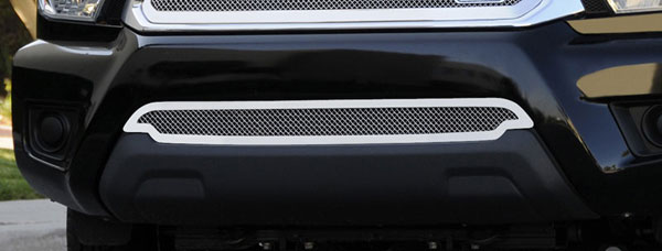 T-Rex (55938)  Toyota Tacoma 2012 - 2013 Upper Class Polished Stainless Bumper Mesh Grille
