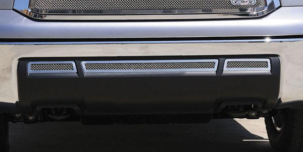 T-Rex 55961 |  Toyota Tundra - Upper Class Stainless Bumper - 3 Pc; 2010-2012