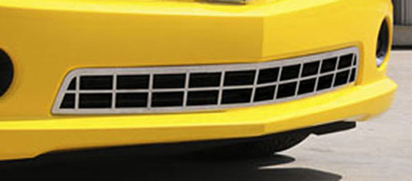 T-Rex 67028:  Chevrolet Camaro SS 2010 - 2013 Custom Classic Stainless Bumper (SS Models)