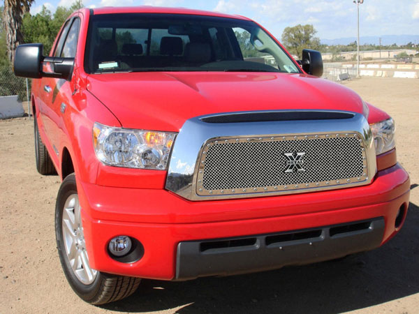T-Rex 6719590 |  Toyota Tundra - X-METAL Series - Studded Main Grille - Polished SS; 2007-2009