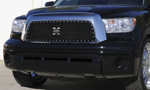 T-Rex (6719591)  Toyota Tundra 2007 - 2009 X-METAL Series - Studded Main Grille - ALL Black