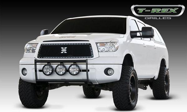 T-Rex 6719631 |  Toyota Tundra - X-METAL Series - Studded Main Grille - ALL Black; 2010-2012