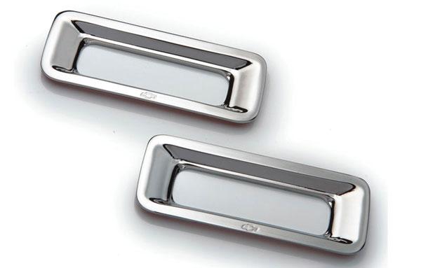 T-Rex 6910122 |  Chevrolet Camaro - Defenderworx Reverse Light Bezel - 2 Pc - Chrome; 2010-2013