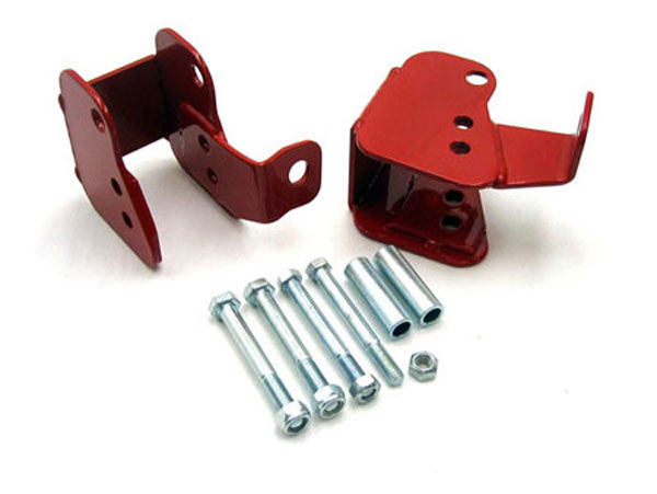 UMI Performance 2012: UMI 1982-02 Camaro Lower Control Arm Relocation Brackets - Bolt-In V8