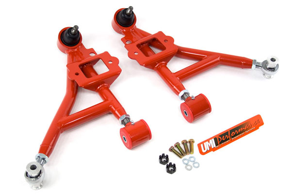 UMI Performance 2305: UMI 1993 - 2002 GM Camaro Adjustable Lower Front A-Arms- Street V8
