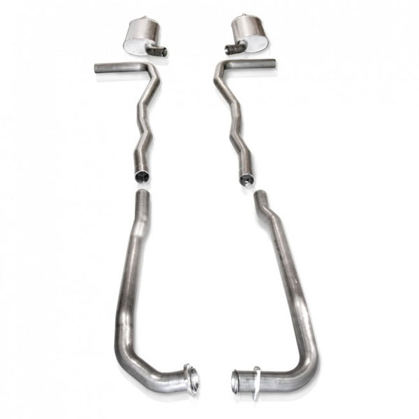 "Stainless Works V6313100S |  Chevy Corvette Exhaust 2.5"" Manifolds; 1963-1963"