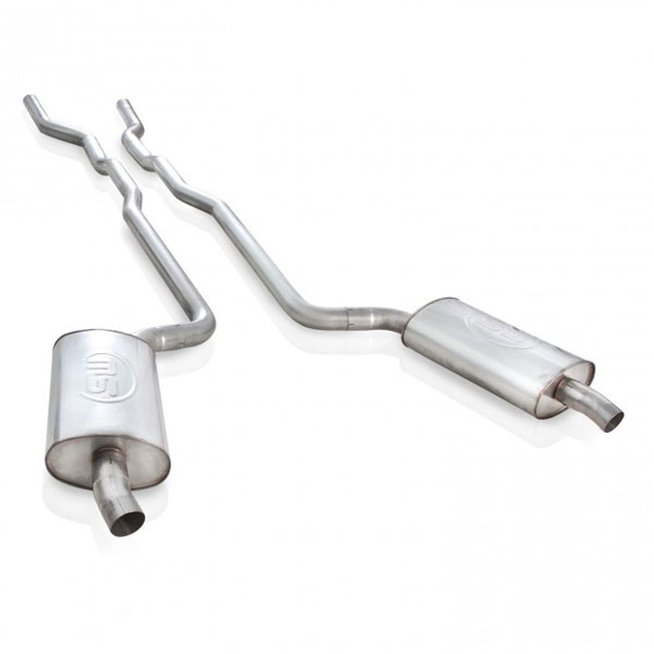 Stainless Works V6872SW:  Chevy Corvette 1968-72 Small Block Exhaust System 2-1/2'' SS
