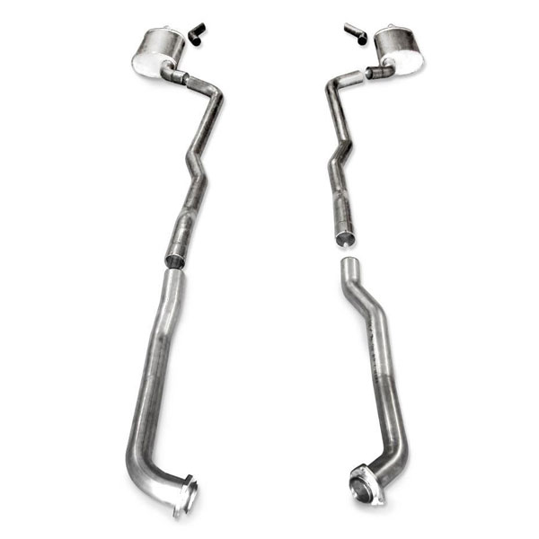 Stainless Works V7314100S |  Chevy Corvette Exhaust SS BB Std; 1973-1982