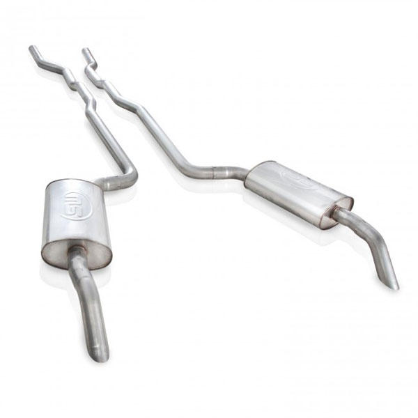 Stainless Works V7381SW:  Chevy Corvette 1973-82 Small Block Exhaust System 2-1/2'' SS