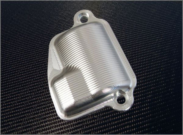Granatelli VC-0058:  2006-12 Corvette LS7 Standard Coil Covers - Billet