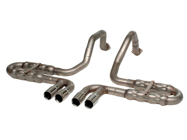 Stainless Works VC5CHAM:  Chevy Corvette 1997-2004 Exhaust Chambered Axle Back