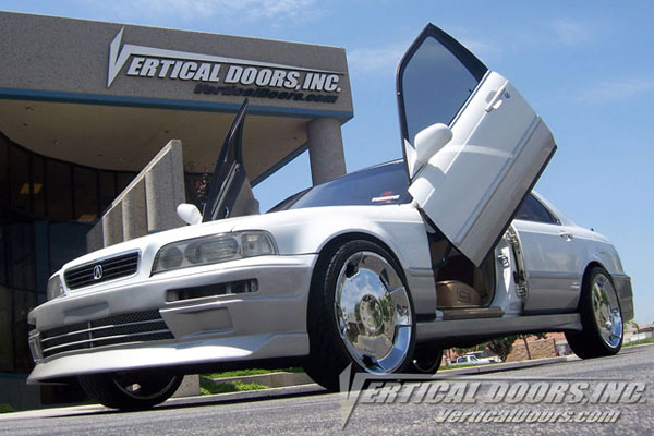 Vertical Doors VDCAL9195:  ACURA LEGEND 1991-1995 4DR
