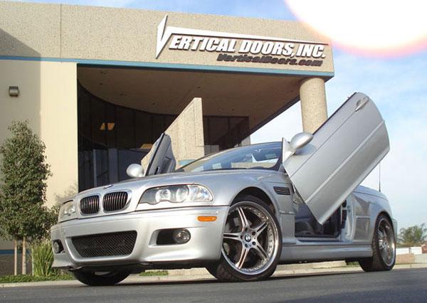 Vertical Doors VDCBMW30709 |  BMW 3 SERIES (335 CI) 2007-2009 2DR