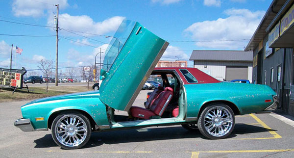 Vertical Doors VDCBREG7888 |  BUICK REGAL 1978-1988