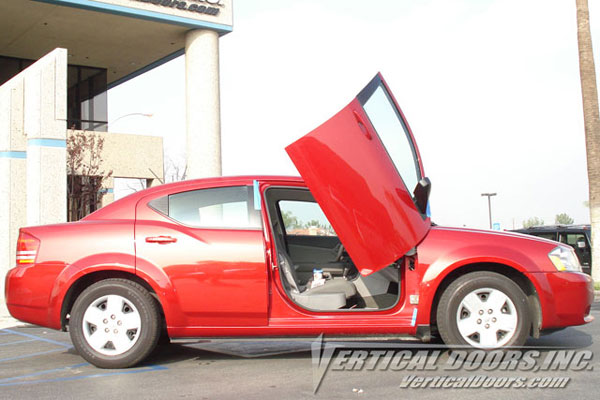 Vertical Doors VDCDAVE07:  DODGE AVENGER 2007-UP
