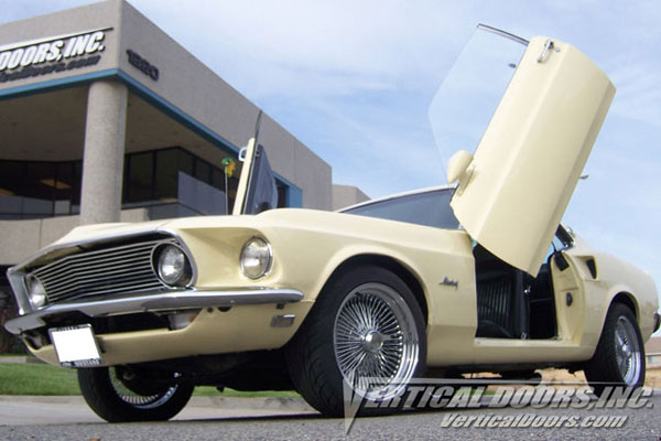 Vertical Doors VDCFM6970: Veritcal Doors FORD MUSTANG 1969-1970