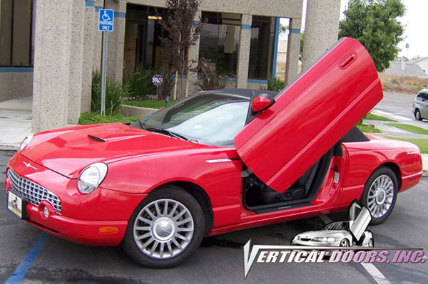 Vertical Doors VDCFTH0206:  FORD THUNDERBIRD 2002-2006