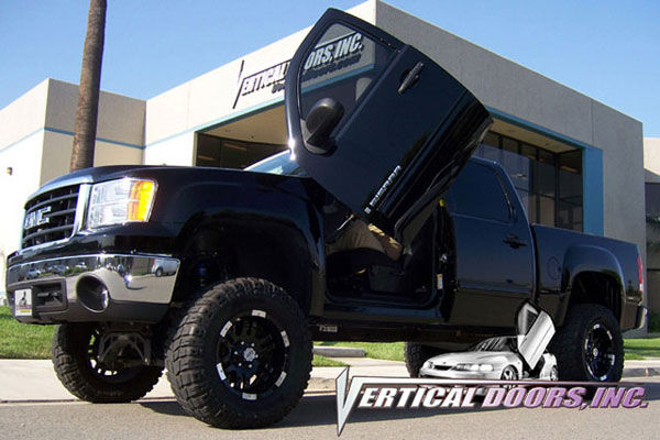 Vertical Doors VDCGMCSIER07:  GMC SIERRA 2007-UP