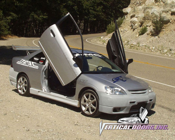 Vertical Doors VDCHC0105:  HONDA CIVIC 2001-2005