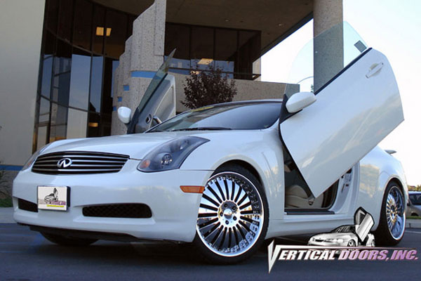 Vertical Doors VDCIG350307:  INFINITI G35 SEDAN 2003-2007 4DR