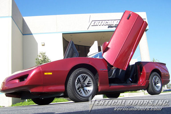 Vertical Doors VDCPONFIRE8292 |  PONTIAC FIREBIRD/TRANS AM V8; 1982-1992