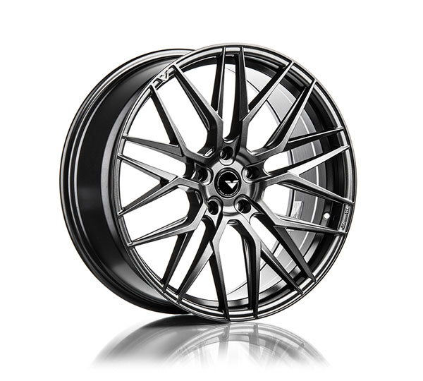 Vorsteiner 107.22105.5112.35C.66.TM | Flow Forged Wheel V-FF 107 22X10.5 5X112 35C 66 Titanium Machine; 1950-2017