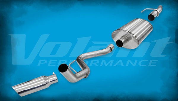 Volant (54393)  Exhaust System 2011-2014 Ford F-150 F-150 5.0L V8 3.0'' Single Side Exit