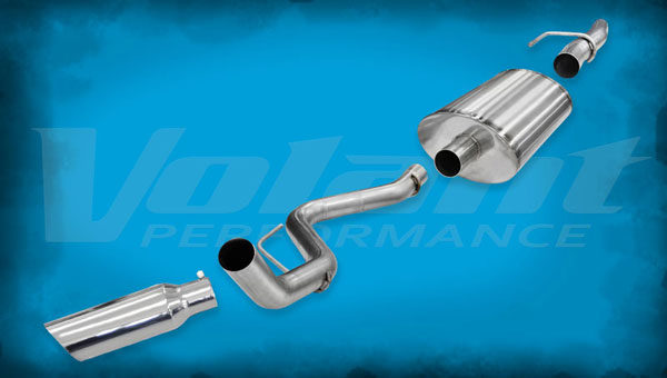 Volant 54394:  Exhaust System 2011-2014 Ford F-150 F-150 6.2L V8 3.0'' Single Side Exit