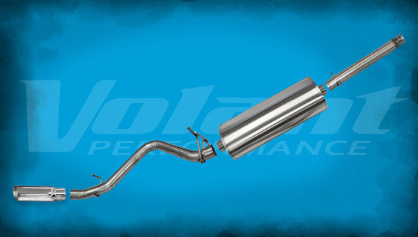 Volant 54874:  Exhaust System 2014-2014 GMC Sierra 1500 5.3L V8 153'' WB 3.0'' Single Side Exit
