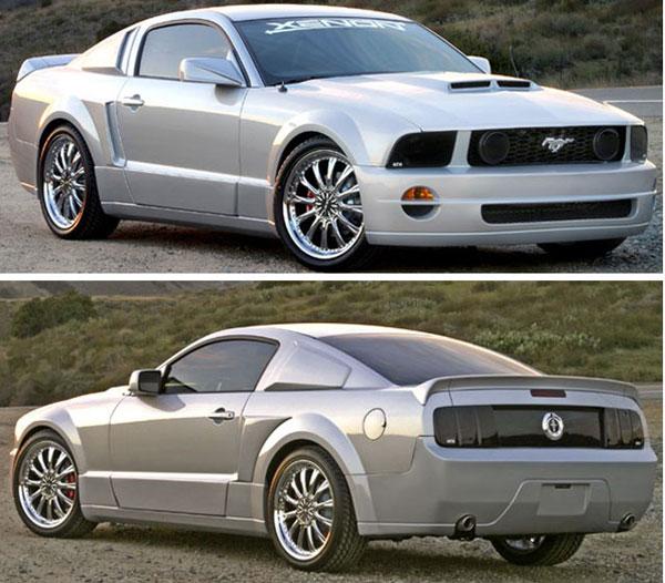 Xenon 12149 | XENON Mustang GT/R Body Kit - Entire Kit Mustang V6; 2005-2009