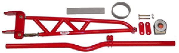BMR Suspension XTA001: BMR Xtreme Duty torque arm kit w/universal Xbrace, 82-02 Firebird 1982-02 V8 / V6