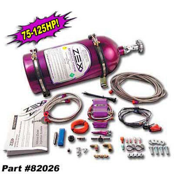 Zex 82026 |  EFI Nitrous System Gen III LS1 75-125HP Camaro V8; 1998-2002