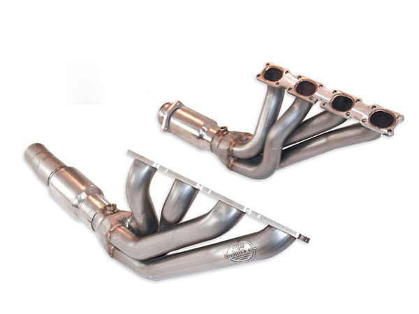 Stainless Works ZR1FACTCAT:  90-95 ZR1 Vette Catted Headers- Fits Factory Conn. Point