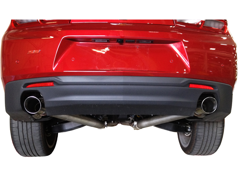 Slp Performance 620079 Loudmouth Exhaust Camaro Ss Eliminator Axle Back System 2016