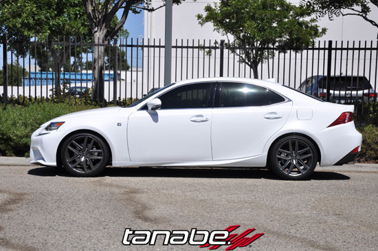 tanabe tnf177 | lexus is250 f-sport rwd sustec nf210 lowering