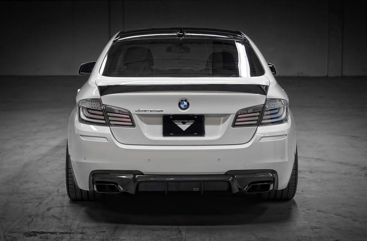 Vorsteiner 9801BMV   BMW F10 5 Series VRS Aero Decklid Spoiler Carbon Fiber  PP 1x1 Glossy