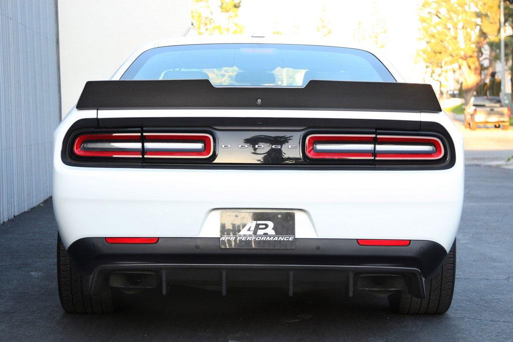 Ultimate Dodge Dodge Challenger Rear Diffuser