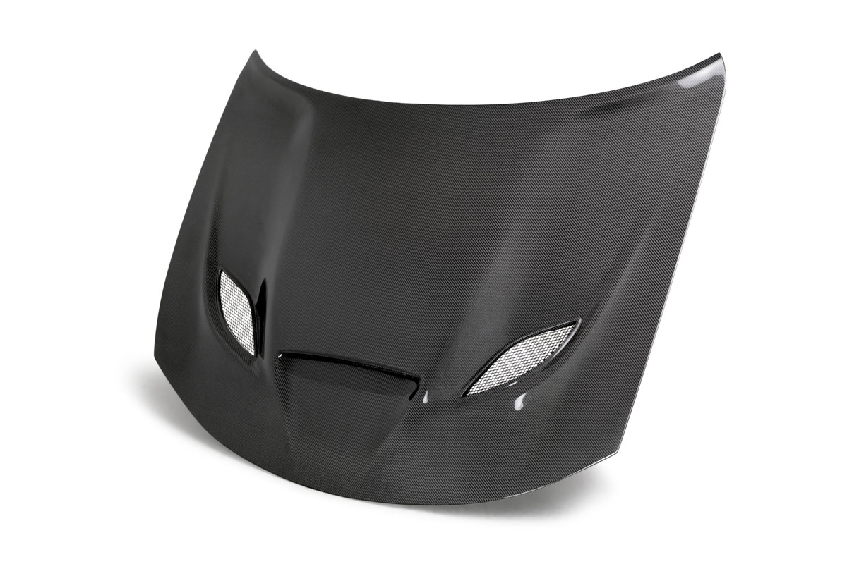 Anderson Composites Ac Hd15dgcrhc Oe Dodge Charger Hellcat Type Oe Carbon Fiber Hood 2015 2018