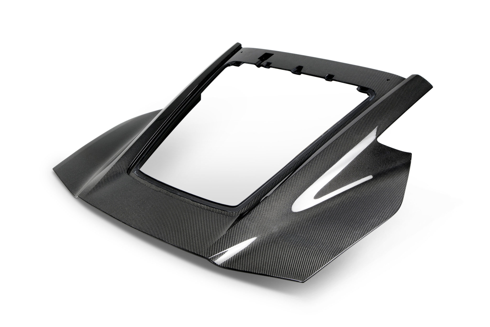 Anderson Composites AC-TL14CHC7-DRY | Corvette C7 DRY Carbon Fiber Rear  Hatch Replacement