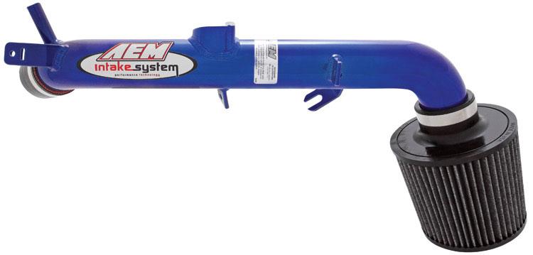 AEM 21-573B - AEM Cold Air Intake System TOYOTA YARIS 07 - Blue